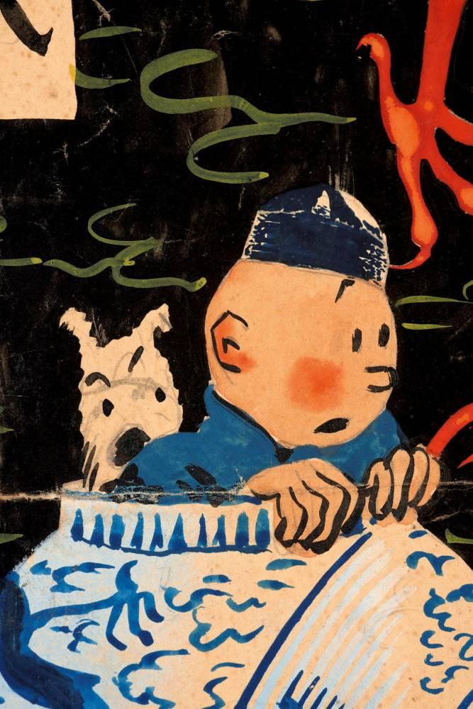 Tintin ©  Artcurial