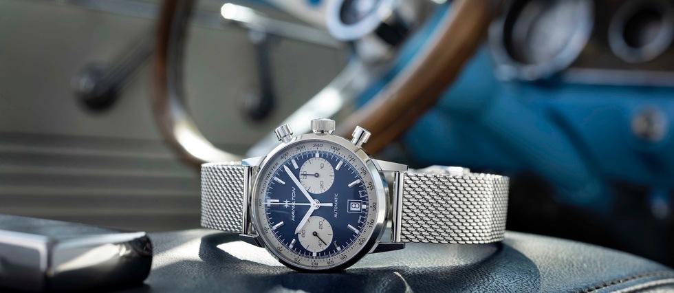 Des montres vintage au goût du jour