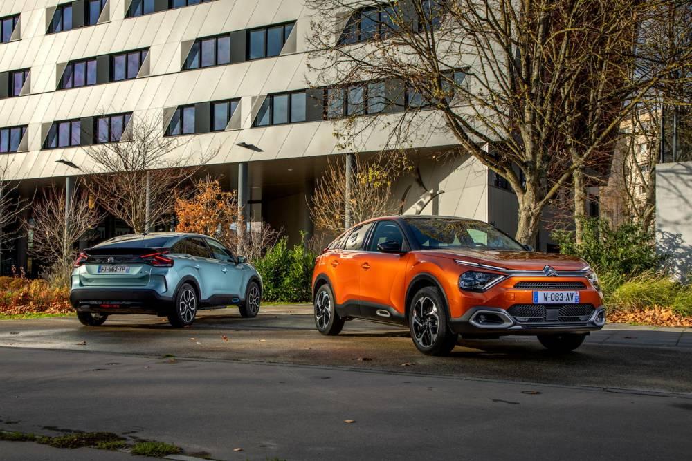 La nouvelle Citroën C4 en 2021 va marquer des points dans la catégorie des berlines compacte type Peugeot 308, Renault Megane, Volkswagen Golf , Ford Focus et autres ...