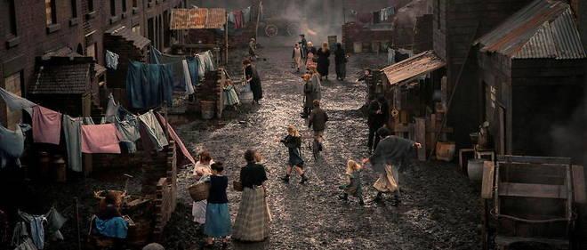 Le musee a servi pour les prises de vue de  Peaky Blinders , une serie britannique qui raconte l'histoire d'une famille de criminels dans l'entre-deux-guerres. (illustration)
