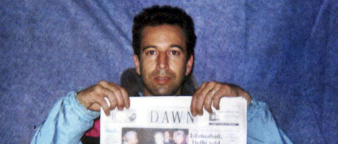 Photo non datee du journaliste Daniel Pearl.