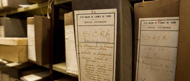 En juillet 2015, les archives du Bureau central de renseignements et d'action (BCRA, 1940-1945) sont affichees au Service historique de la Defense, a Vincennes. Avant d'etre accessibles au public.