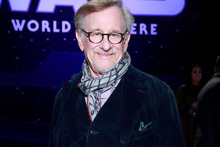 Steven Spielberg, le 16 décembre 2019 à Los Angeles, à l'avant-première hollywoodienne de  Star Wars : L'Ascension de Skywalker .