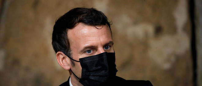 Emmanuel Macron le 12 janvier dernier (photo d'illustration).