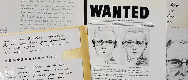Zodiac, un tueur en serie jamais identifie, dans les annees 1960 et 1970, dans la region de San Francisco.