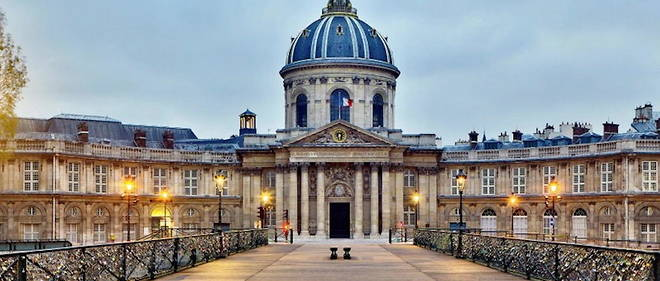L'Institut de France a Paris.