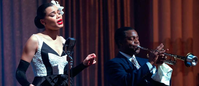 Andra Day dans le biopic de Lee Daniels, « The United States vs. Billie Holiday ».