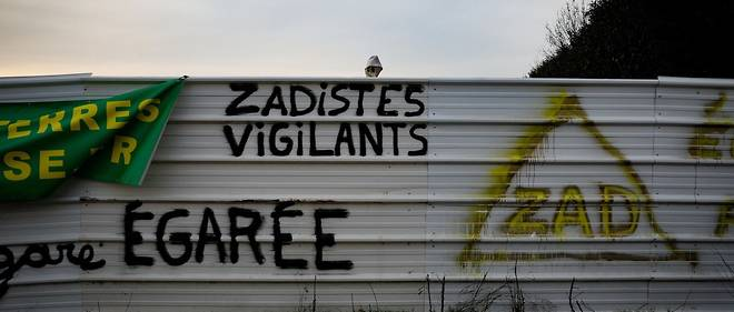 La ZAD du Triangle de Gonesse etait occupee depuis le 7 fevrier par des militants ecologistes opposes a la creation d'une future gare de metro du Grand Paris (illustration).