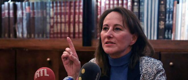 Segolene Royal est candidate aux elections senatoriales sur une liste citoyenne.
