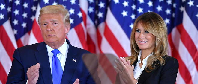 Donald et Melania Trump, le 4 nomvebre 2020.