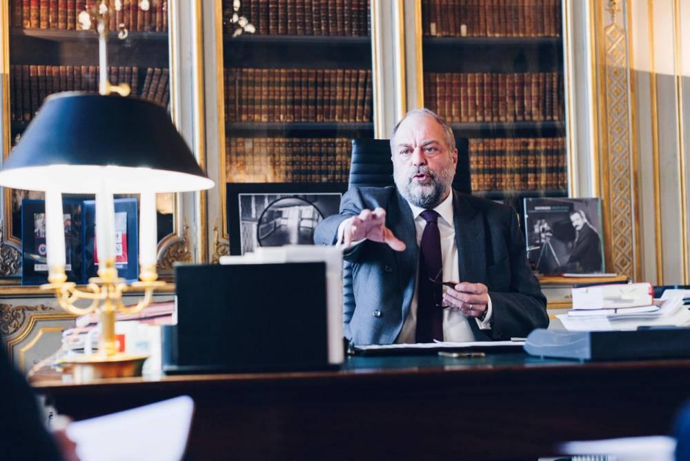 Éric Dupond-Moretti,  ministre de la Justice, ©  SÉBASTIEN LEBAN POUR « LE POINT »