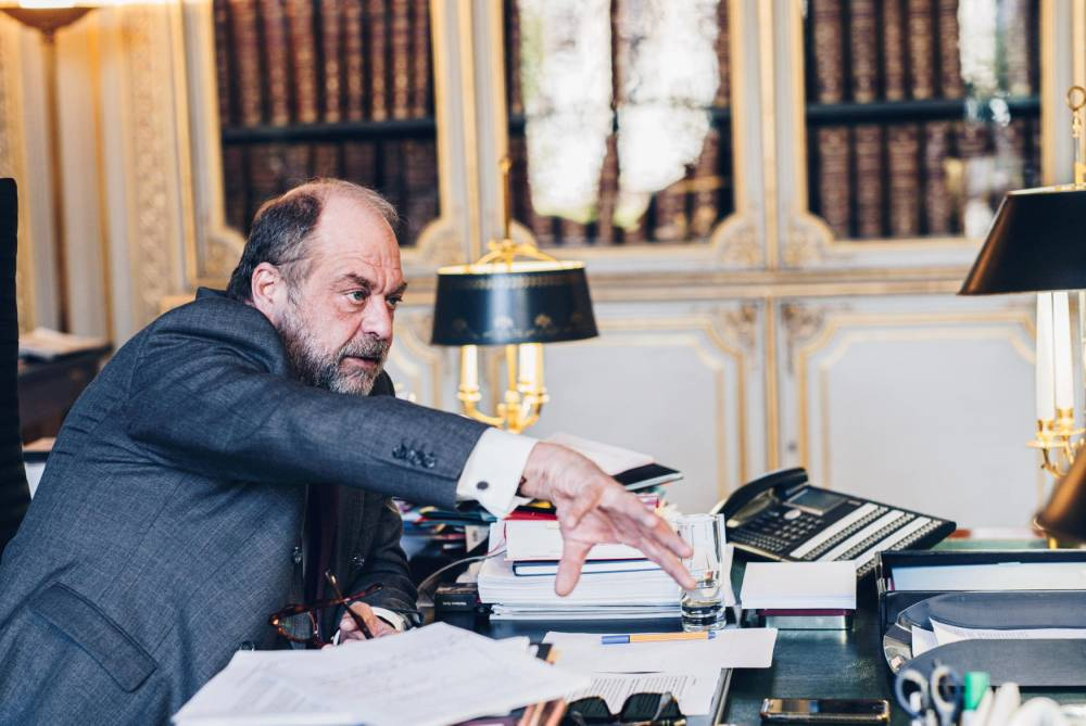 Éric Dupond-Moretti, ministre de la Justice, ©  Sébastien Leban / SÉBASTIEN LEBAN POUR « LE POIN