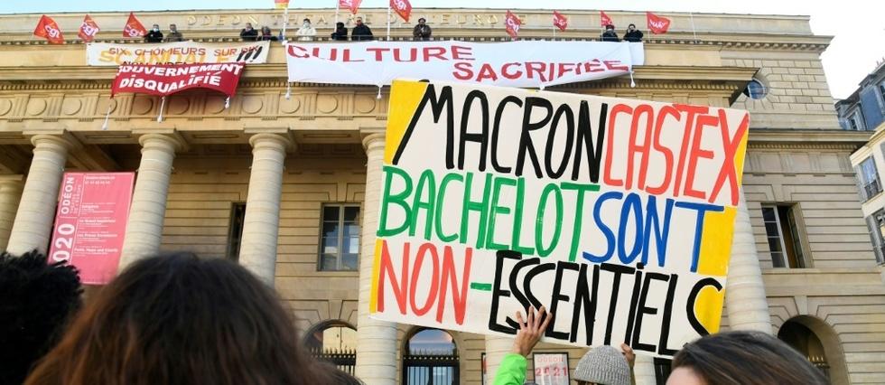 Bachelot s'est rendue au théâtre de l'Odéon occupé - Le Point
