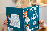 Couverture de « The Cat in the Hat ».