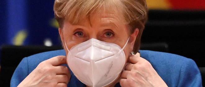 Die Mantras der Impfkampagne über den Rhein verderben das Ende von Angela Merkels Dekret (hier, 6. Januar).