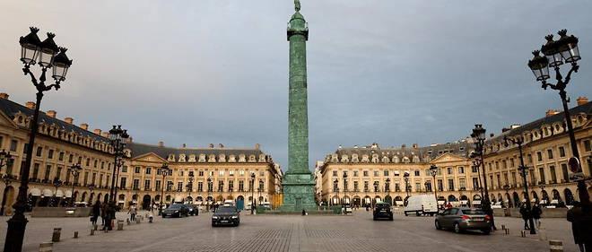 JPMorgan France dispose de bureaux place Vendome, a Paris.