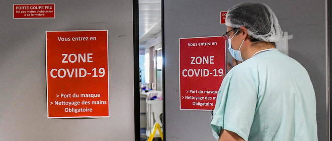Le nombre de malades en reanimation est en hausse reguliere depuis le plus bas enregistre le 7 janvier.