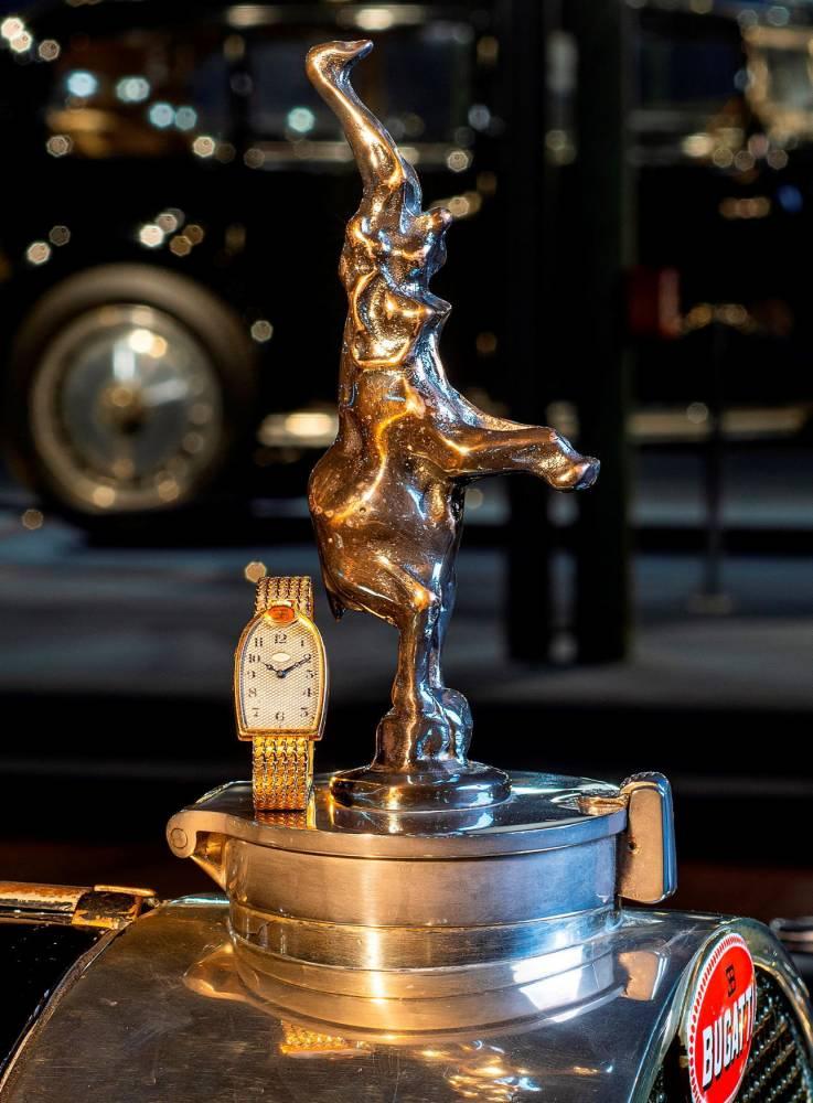 montre ©  © Vintage Watch Story - (vws.fr) / Cité de l'Automobile - Collection Schlumpf