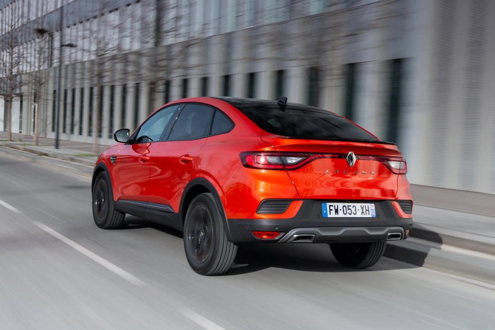 Renault Arkana ©  tibo