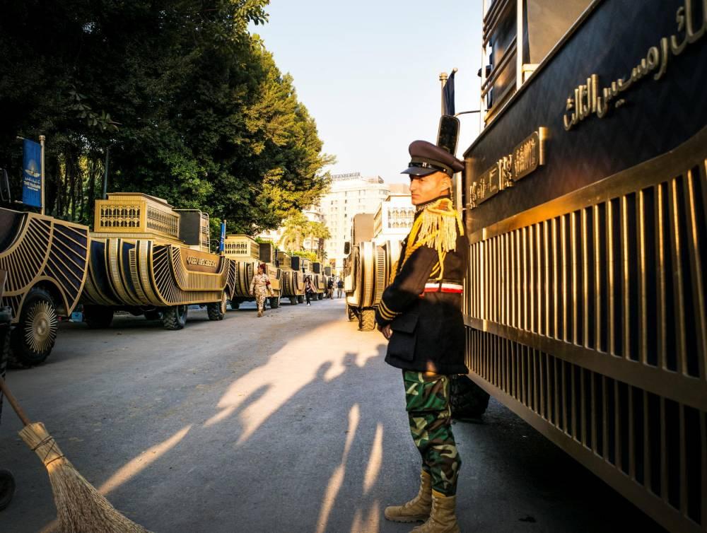 Momies, Egypte, Le Caire ©  VASSILIS A. POULARIKAS / NurPhoto / NurPhoto via AFP