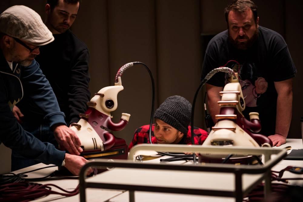 Brandon Cronenberg, un metteur en scène scrupuleux, dont l'univers touche ici à des thèmes chers à son père. ©  Amanda Matlovich