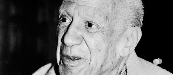 Pablo Picasso en 1973 a Vallauris.