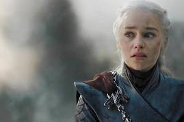 Daenerys Targaryen (Emilia Clarke), en plein « <em>very bad trip »</em>. Le virage destructeur que beaucoup de fans n'ont pas pardonné aux showrunners de « <em>Game of Thrones »</em>.