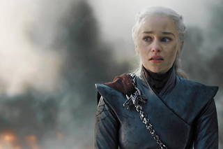 Daenerys Targaryen (Emilia Clarke), en plein «  very bad trip » . Le virage destructeur que beaucoup de fans n'ont pas pardonné aux showrunners de «  Game of Thrones » .