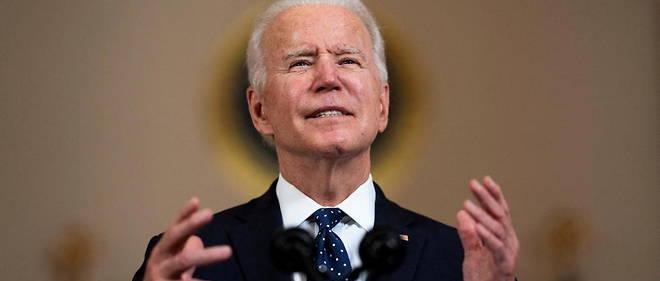 Le president americain, ici a la Maison-Blanche le 20 avril 2021, souhaite regagner l'accord sur le nucleaire iranien, a condition que l'Iran en fasse de meme.