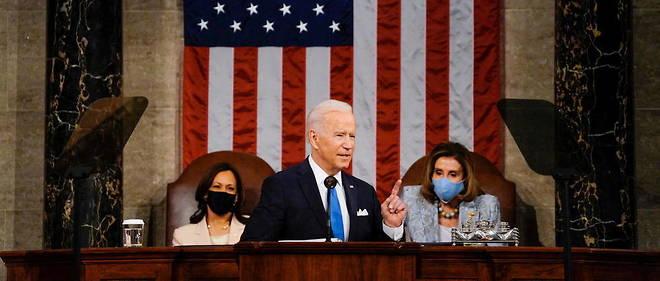Pour Biden, « l'Amérique va de nouveau de l'avant » - Le Point