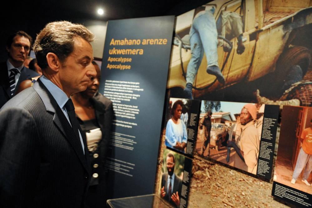 Nicolas Sarkozy, Kigali, génocide, 2010, ©  Gregoire Elodie/ABACA