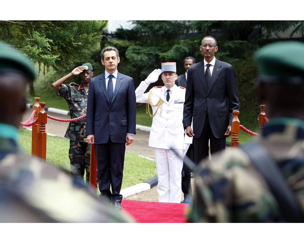 Paul Kagame, Rwanda, Kigali, Nicolas Sarkozy, ©  REMY DE LA MAUVINIERE / POOL / AFP