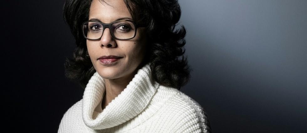 "Audrey Pulvar, une journaliste devenue ""citoyenne engagee"" a gauche"