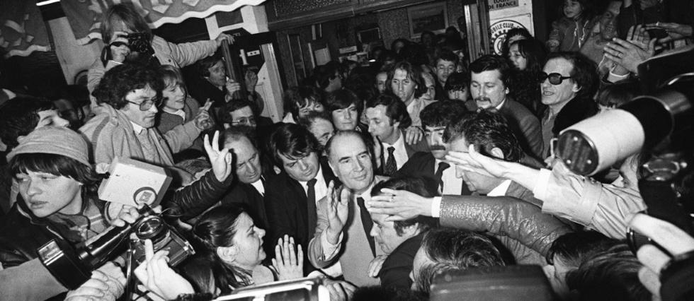 Il y a 40 ans, Mitterrand devenait le premier president socialiste de la Ve Republique
