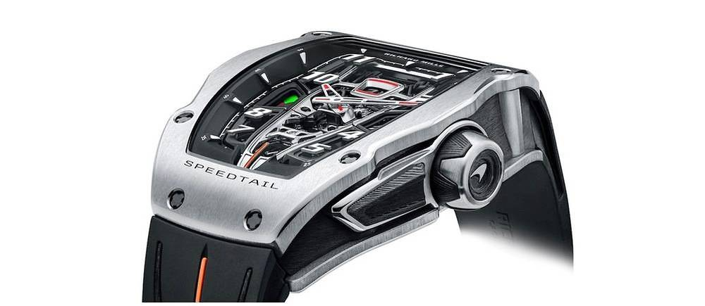 "<p style=""text-align:justify"">Montre Richard Mille RM 40-01 Tourbillon Automatique McLaren Speedtail. Serie limitee 106 exemplaires."