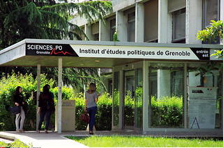 Vue de Sciences Po Grenoble