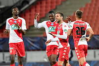L'AS Monaco a surclassé le club amateur de Rumilly-Vallières (5-1) pour rejoindre le Paris Saint-Germain, en finale de la Coupe de France.