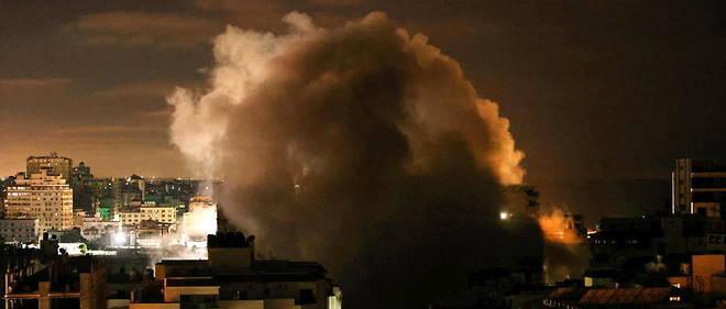 A Gaza, territoire surpeuple sous blocus israelien, les autorites palestiniennes ont fait etat de 145 morts, dont 41 enfants, et quelque 1 100 blesses dans les bombardements depuis le debut de la semaine.