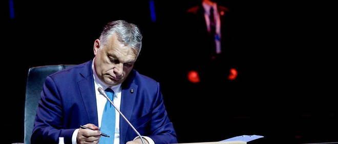 Le Premier ministre hongrois Viktor Orban refuse de s'associer au message de l'UE.