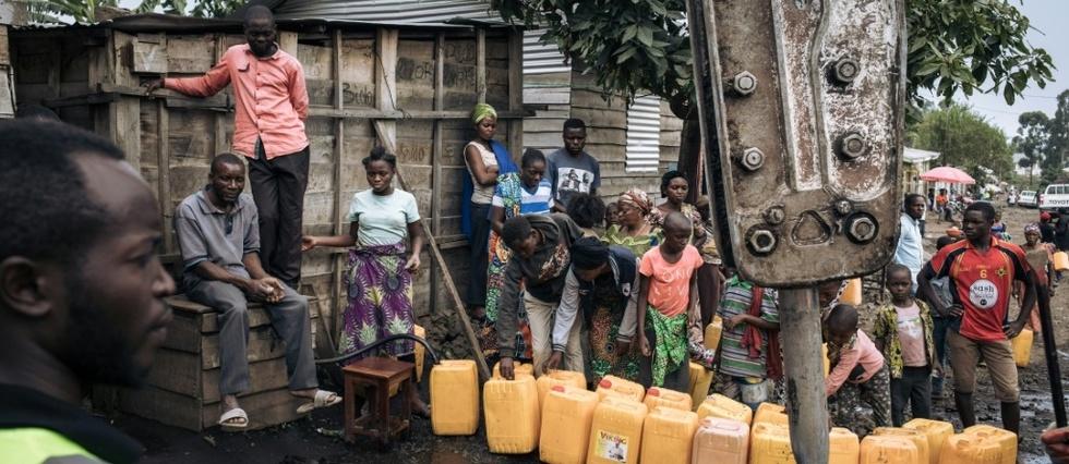"""Nyiragongo: le gouvernement critique, situation """"sous controle"""" assure Tshisekedi"""