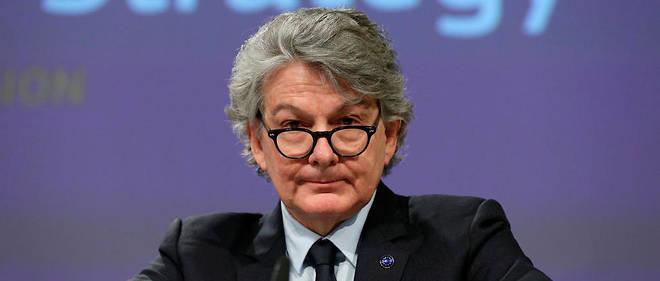 "Thierry Breton invite egalement les Europeens a tirer un certain nombre de lecons de l'incident << Ryanair >>.  ""title ="" Thierry Breton also invites Europeans to learn a number of lessons from the incident< Ryanair >>.<br /> ""/></div><figcaption class="