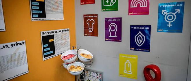 Un centre de prevention a Paris.