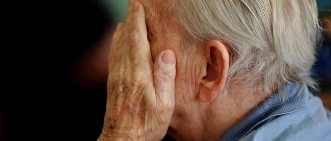 Aux Etats-Unis, la maladie d'Alzheimer est la 6e cause de deces (illustration).