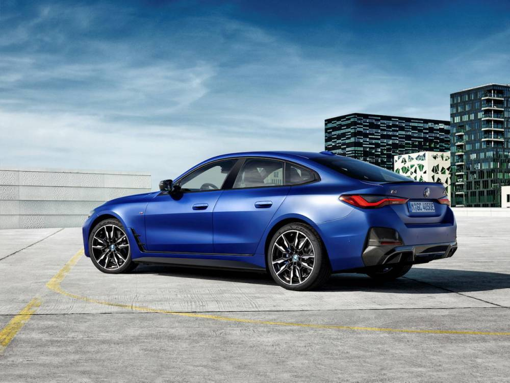 BMW i4 ©  Fabian Kirchbauer / Fabian Kirchbauer Photography