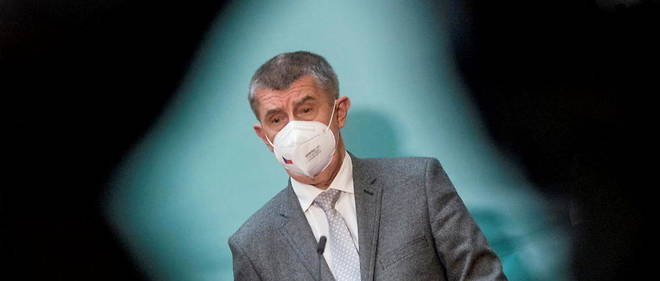 Czech Prime Minister Andrej Babis, May 26, 2021.