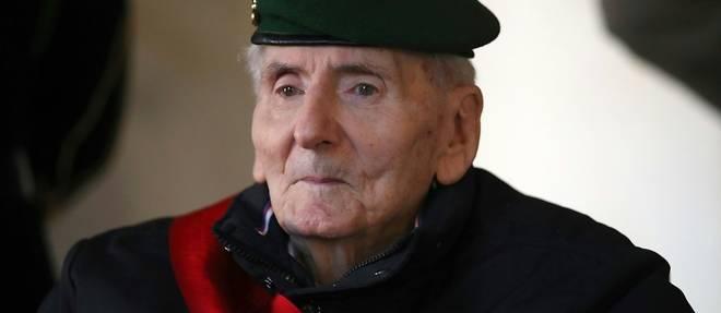 Hubert Germain, dernier survivant des Compagnons de la Liberation, est mort