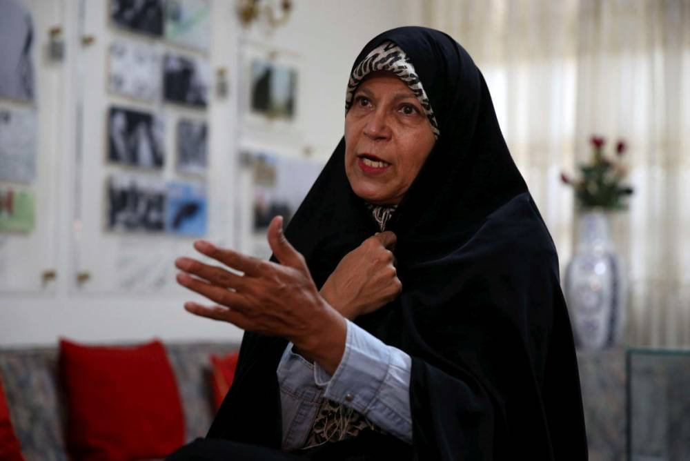 -Faezeh-Hachemi-Rafsandjani- ©  Vahid Salemi/AP/SIPA / AP / Vahid Salemi/AP/SIPA