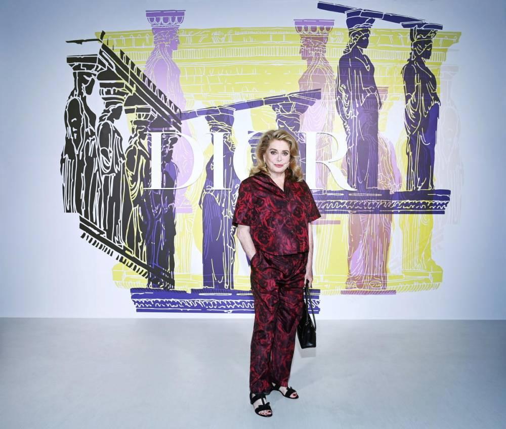 Catherine Deneuve, Dior, défilé, Athènes, ©  Pascal Le Segretain / Getty Images Europe / Getty Images for Dior