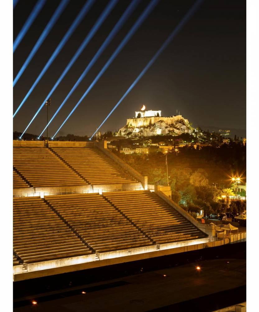 Athènes, stade olympique, défilé Dior,  ©  George Messaritakis