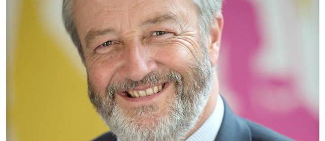 Vincent Montagne, president du Syndicat national de l'edition (SNE).